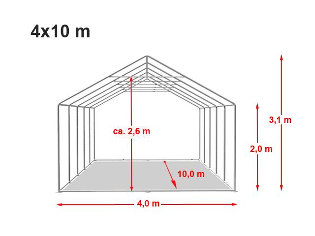 Párty stan Prémium 4x10m